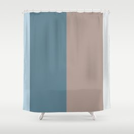 Parable to Behr Blueprint Color of the Year and Accent Colors Vertical Stripes 13 Shower Curtain