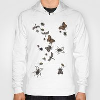 bugs Hoodies featuring BUGS by Rachael Powick