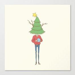 xmas tree Canvas Print