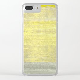 Excitement Clear iPhone Case