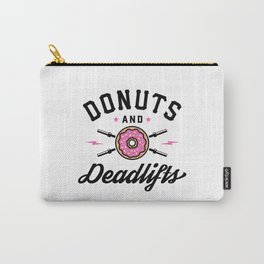 Donuts And Deadlifts v2 Carry-All Pouch