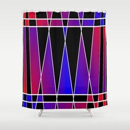 Art Deco 'Fractured' Shower Curtain