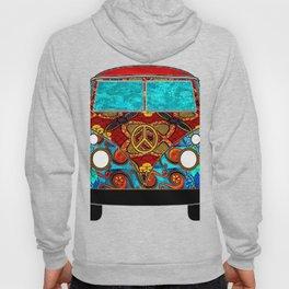 Red Tropic Van Hoody