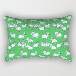 Counting sheep Rectangular Pillow