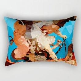 Curves - São Miguel Arcanjo Rectangular Pillow