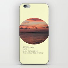 The Sun Shines On Everything iPhone & iPod Skin