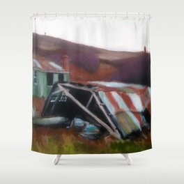 Dunree 3 Shower Curtain