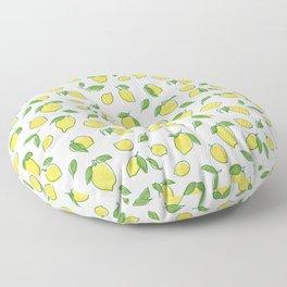 Lemon Leaf Floor Pillow