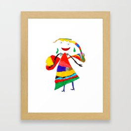 fly with me... Framed Art Print