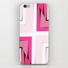 Pink Corners iPhone Skin