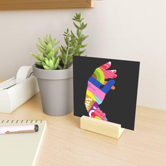 Afterwards (Hand) Mini Art Print