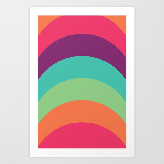 70s Flair Art Print
