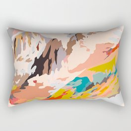 glass mountains Rectangular Pillow