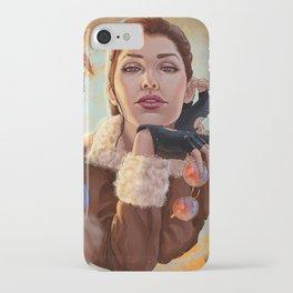 Tomb Raider: Bomber Jacket iPhone Case
