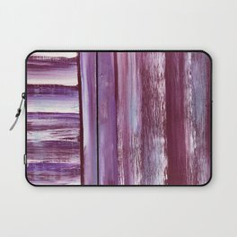 Wooden Shutters in Red New York Clam Chowder Color Laptop Sleeve