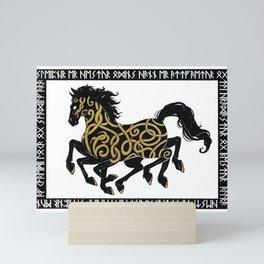 Sleipnir - Norse Mythology Mini Art Print