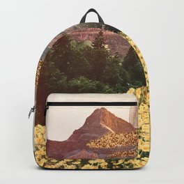 Dreamy Mountain Collage Backpack