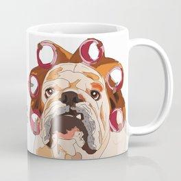 English Bulldog-Good Morning.  It's pee o'clock. Coffee Mug