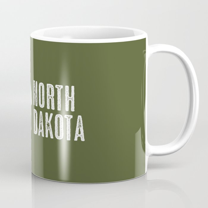 Bison: North Dakota Coffee Mug