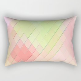 Re-Created Vertices No. 4 by Robert S. Lee Rectangular Pillow