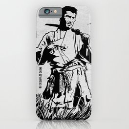 Seven Samurai iPhone Case