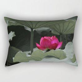 Nature's Pink Rectangular Pillow