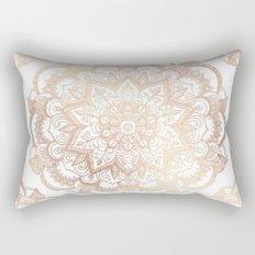Mandala Gold Shine I Rectangular Pillow