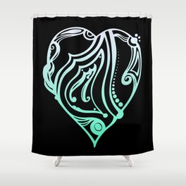 Birth Hearts No.1 - M is for.... Shower Curtain