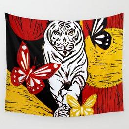 Wild Night Beauty Wall Tapestry