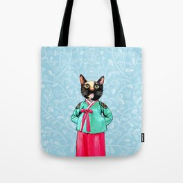 Jade and Pearl Tote Bag