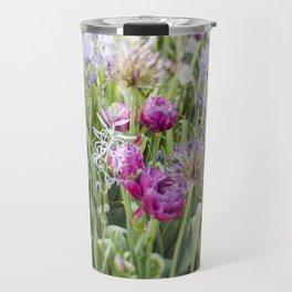 Spring Floral  //  The Botanical Series Travel Mug
