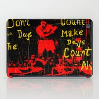 ali iPad Cases featuring Ali by Maxim Garg
