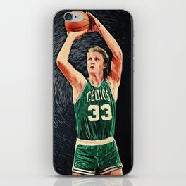 Larry Bird iPhone Skin