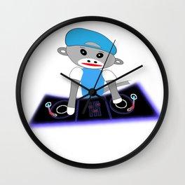 Dj Monkey Wall Clock