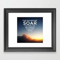 Soar. Framed Art Print