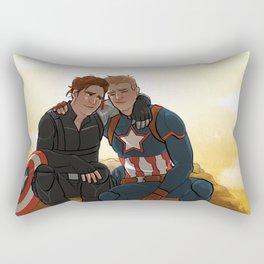 Tired Boys Rectangular Pillow