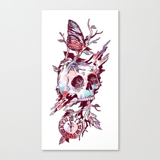 Mors et Natura 2.0 Canvas Print