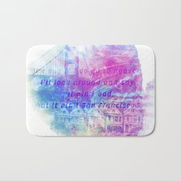 it aint san francisco Bath Mat