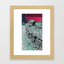 Crescent Lake Framed Art Print