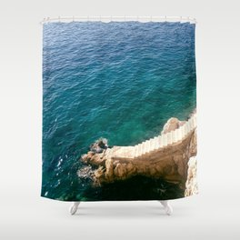 Stairs to the Sea Shower Curtain