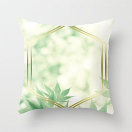 LUX x Natures Window Throw Pillow