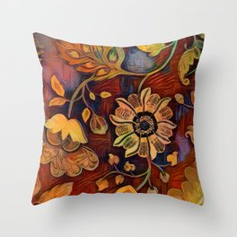 Richness of Color Throw Pillow