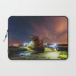 Shipwrecked on the California Coast Laptop Sleeve