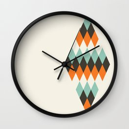 Diamond of Diamonds Wall Clock