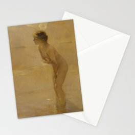 September Morn by Paul Émile Chabas, 1912 Stationery Cards