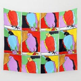Three Pigeons Wall Tapestry