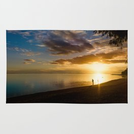 Beach Sunset- Cook Islands Rug