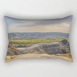 Badlands, Theodore Roosevelt NP, ND 8 Rectangular Pillow