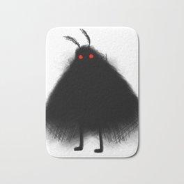Your Fellow Friendly Cryptid: Mothman Bath Mat