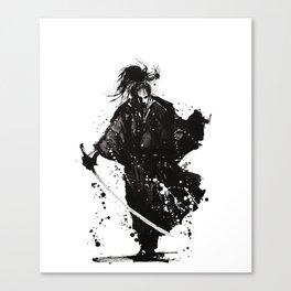 Samurai ronin Canvas Print